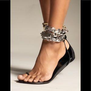 AMINAH Abdul Jillil Chain Sandals